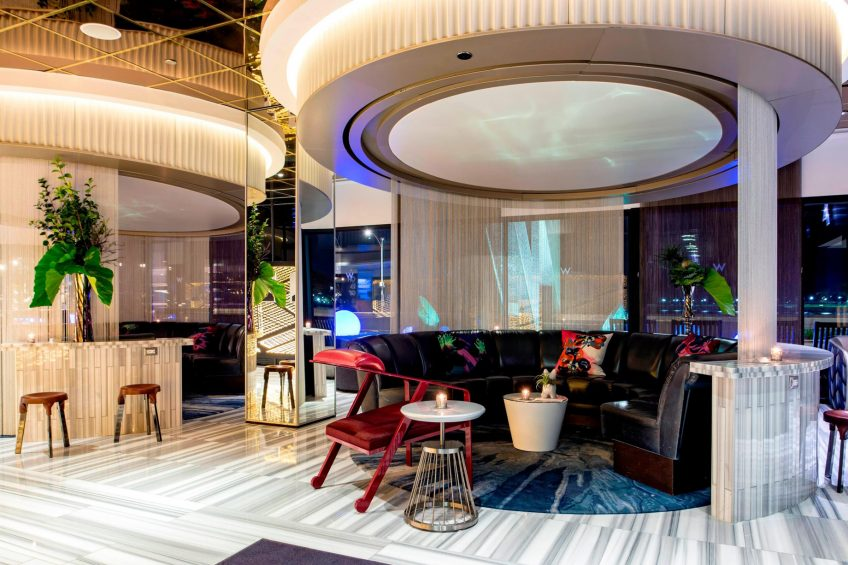 W Chicago Lakeshore Luxury Hotel - Chicago, IL, USA - The Living Room Private Dining