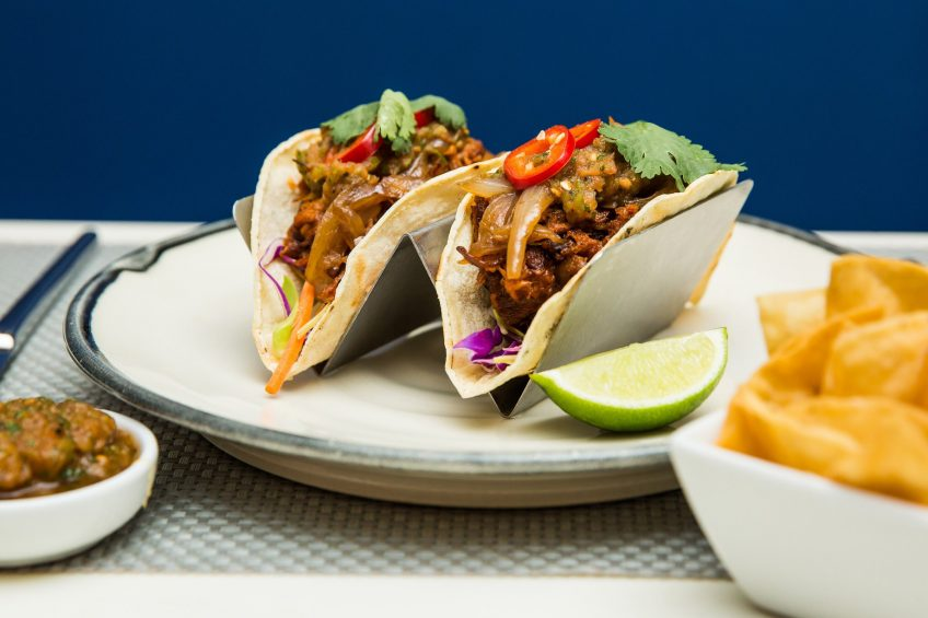 W Seattle Luxury Hotel - Seattle, WA, USA - TRACE Restaurant & Bar Tacos