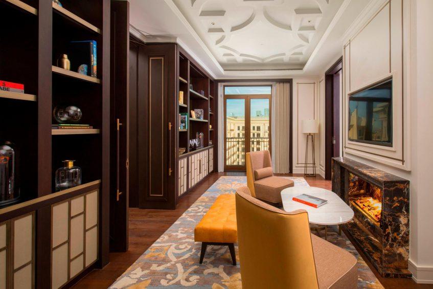 The St. Regis Astana Luxury Hotel - Astana, Kazakhstan - Presidential Suite Library