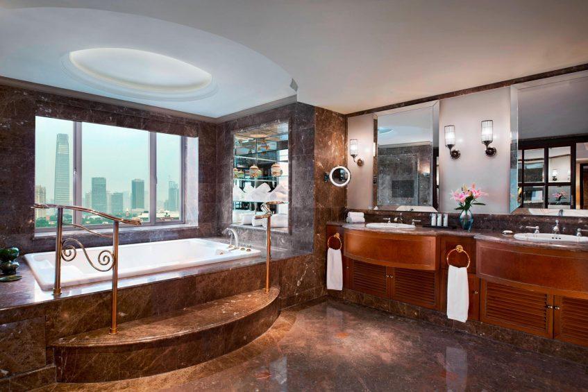 The St. Regis Beijing Luxury Hotel - Beijing, China - Presidential Suite Bathroom Tub
