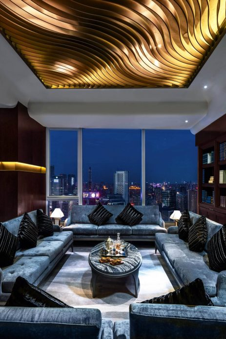 The St. Regis Chengdu Luxury Hotel - Chengdu, Sichuan, China - Yun Fu Private Dining Room Design