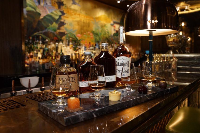 The St. Regis Macao Luxury Hotel - Cotai, Macau SAR, China - The St. Regis Bar Whiskey