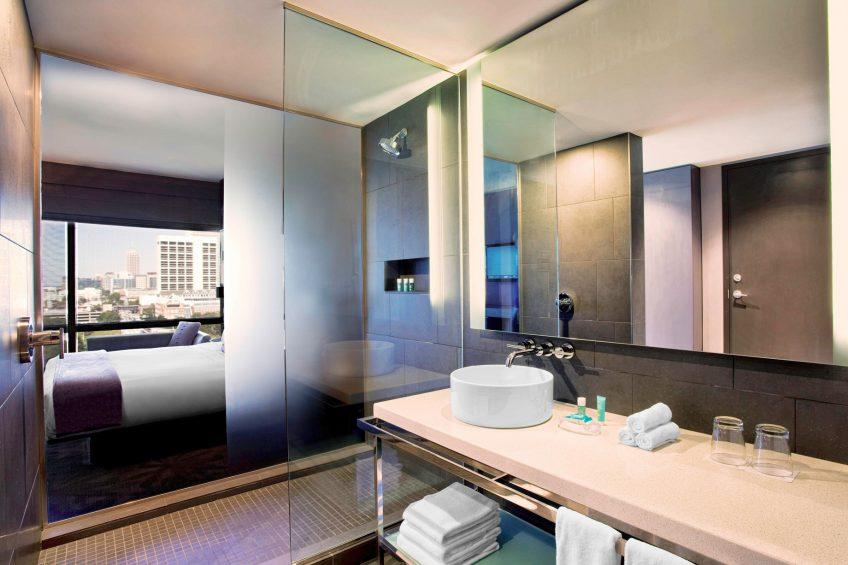 W Atlanta Downtown Luxury Hotel - Atlanta, Georgia, USA - Fabulous Bathroom