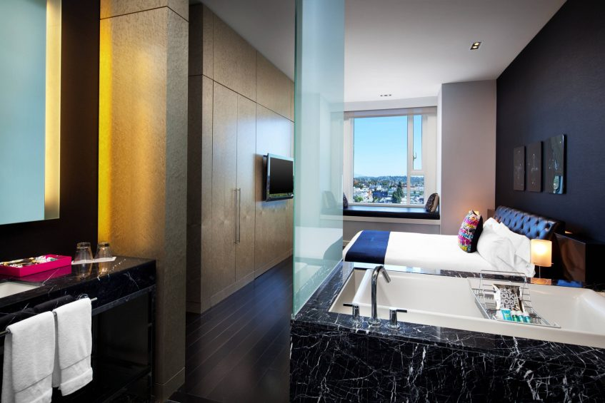 W Hollywood Luxury Hotel - Hollywood, CA, USA - Extreme Wow Suite