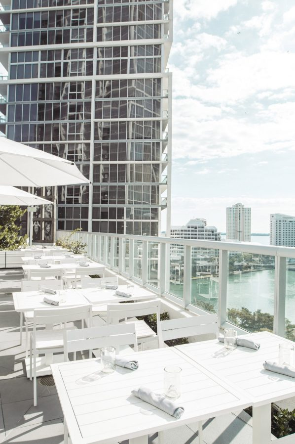 W Miami Luxury Hotel - Miami, FL, USA - ADDiKT Terrace