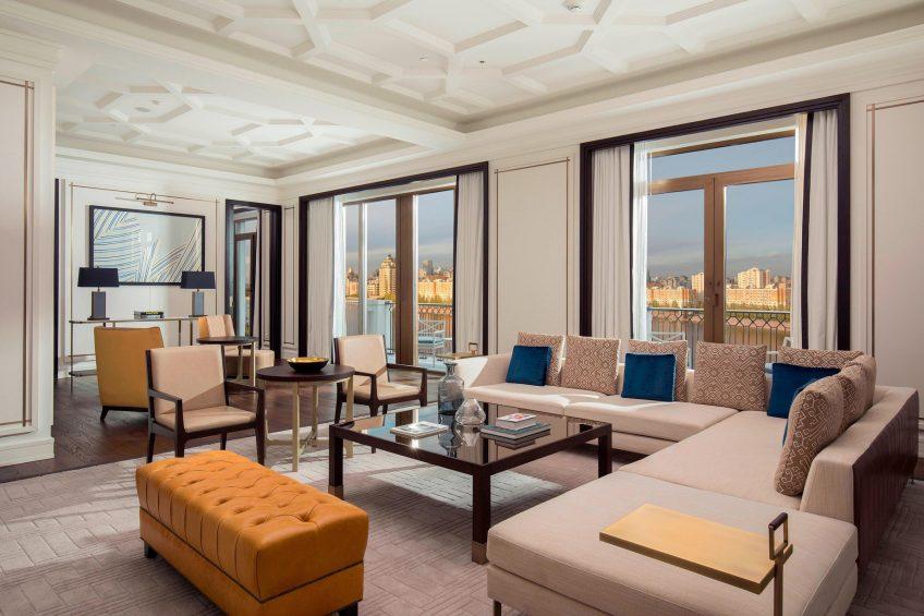The St. Regis Astana Luxury Hotel - Astana, Kazakhstan - Royal Suite Living Room View