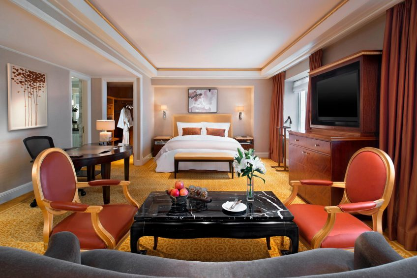 The St. Regis Beijing Luxury Hotel - Beijing, China - Diplomat Deluxe Room