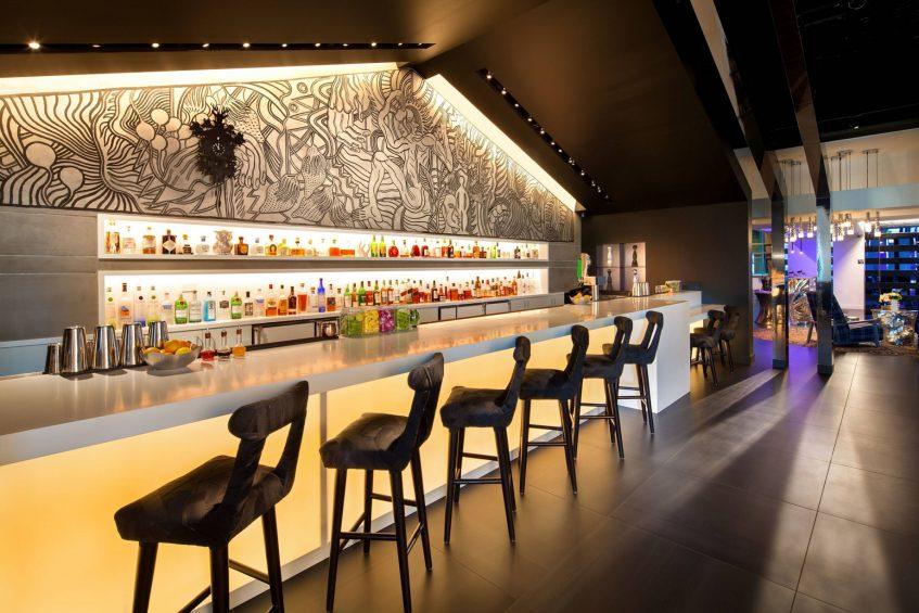 W Bellevue Luxury Hotel - Bellevue, WA, USA - Hotel Bar