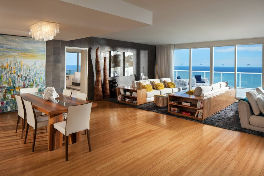 W Fort Lauderdale Luxury Hotel - Fort Lauderdale, FL, USA - Extreme Wow Suite