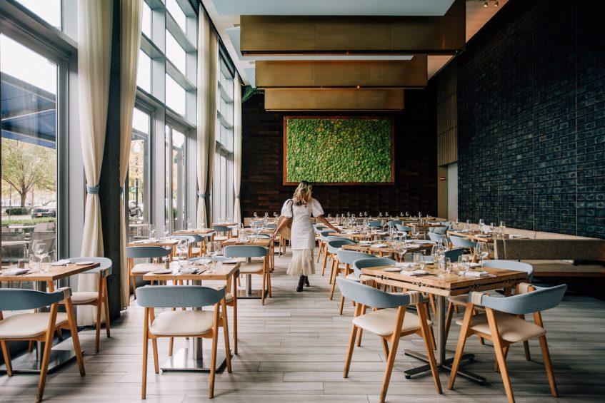 W Hoboken Luxury Hotel - Hoboken, NJ, USA - Halifax Dining Room