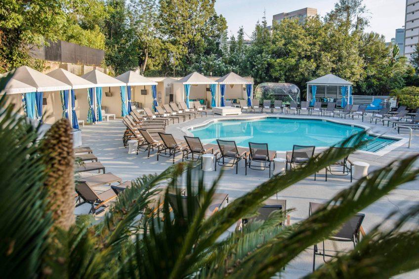 W Los Angeles West Beverly Hills Luxury Hotel - Los Angeles, CA, USA - WET Deck Pool
