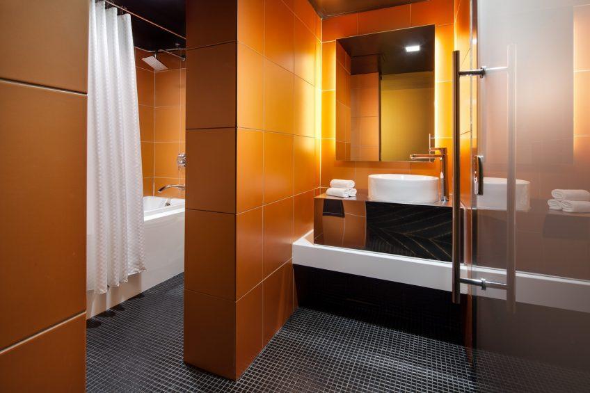W New Orleans French Quarter Luxury Hotel - New Orleans, LA, USA - Fantastic Suite Bathroom