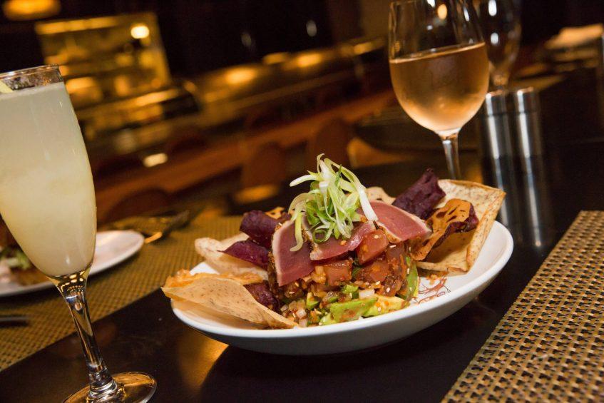 W Seattle Luxury Hotel - Seattle, WA, USA - TRACE Restaurant Dish