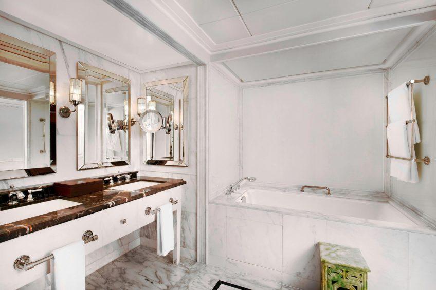 The St. Regis Beijing Luxury Hotel - Beijing, China - Diplomat Deluxe Room Bathroom Tub