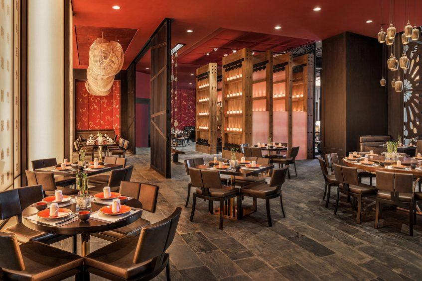 The St. Regis Cairo Luxury Hotel - Cairo, Egypt - Tianma Restaurant Dining Area