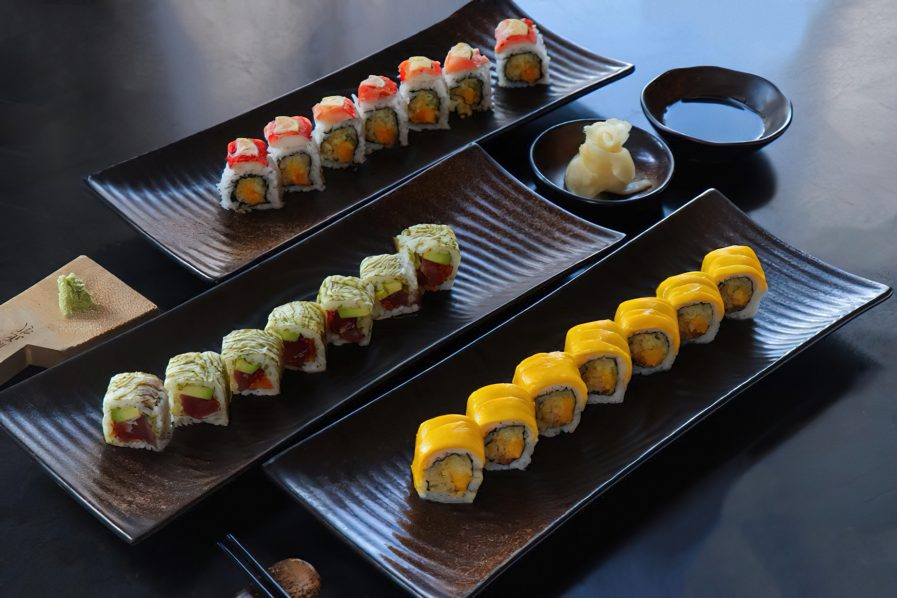 The St. Regis Mumbai Luxury Hotel - Mumbai, India - Assortment of Sushi