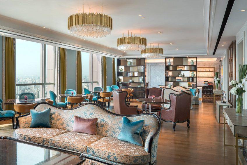 The St. Regis Shanghai Jingan Luxury Hotel - Shanghai, China - The Club
