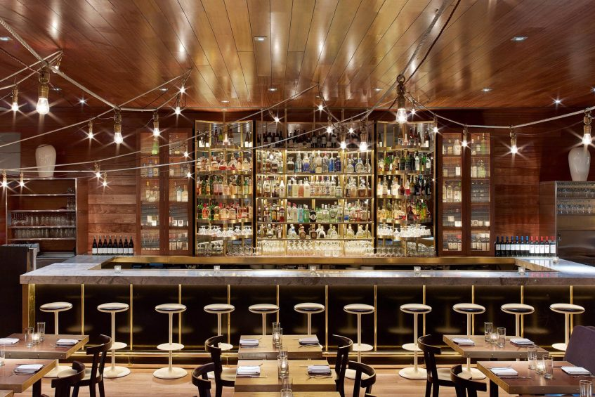 W New York Times Square Luxury Hotel - New York, NY, USA - Blue Fin Times Square Bar