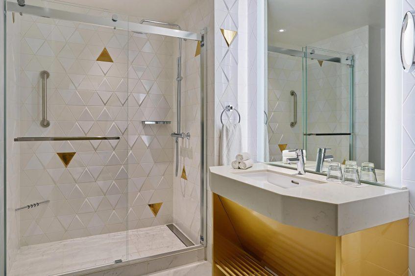 W San Francisco Luxury Hotel - San Francisco, CA, USA - Cool Corner Guest Bathroom
