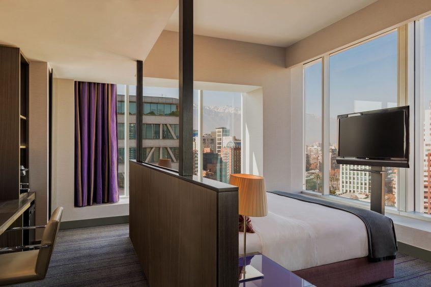 W Santiago Luxury Hotel - Santiago, Chile - Cool Corner Guest Room