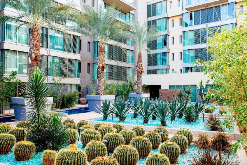 W Scottsdale Luxury Hotel - Scottsdale, AZ, USA - Zen Garden