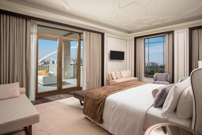 The St. Regis Astana Luxury Hotel - Astana, Kazakhstan - Presidential Suite Bedroom
