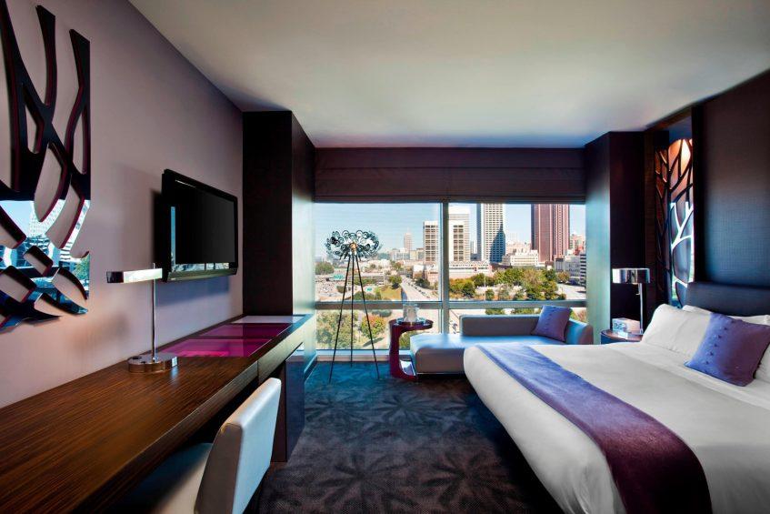 W Atlanta Downtown Luxury Hotel - Atlanta, Georgia, USA - Wonderful Guest Room