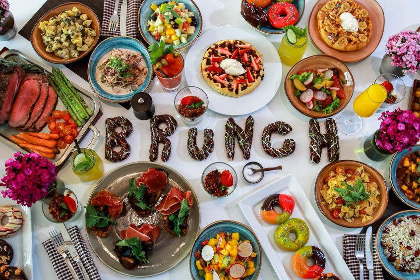 W Bogota Luxury Hotel - Bogota, Colombia - All You Can Eat Brunch