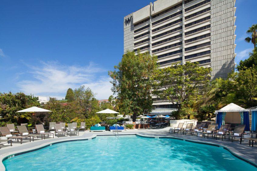 W Los Angeles West Beverly Hills Luxury Hotel - Los Angeles, CA, USA - WET Deck
