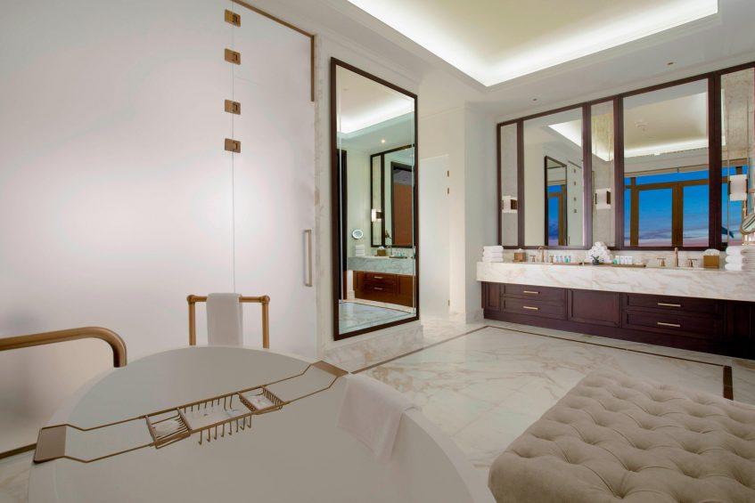 The St. Regis Astana Luxury Hotel - Astana, Kazakhstan - Presidential Suite Bathroom Separate Tub and Shower