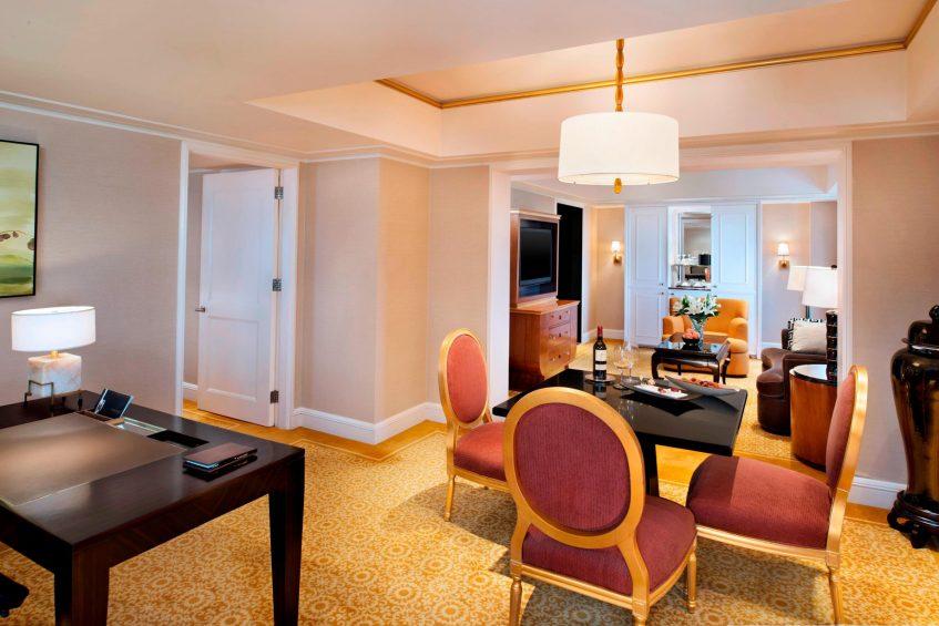 The St. Regis Beijing Luxury Hotel - Beijing, China - Ambassador Suite Dining area