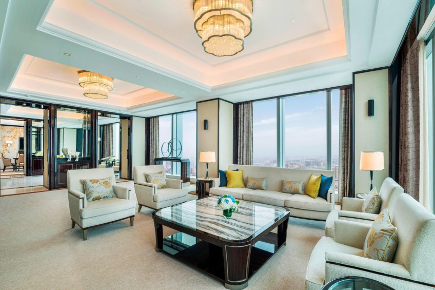 The St. Regis Changsha Luxury Hotel - Changsha, China - Presidential Suite Living Room