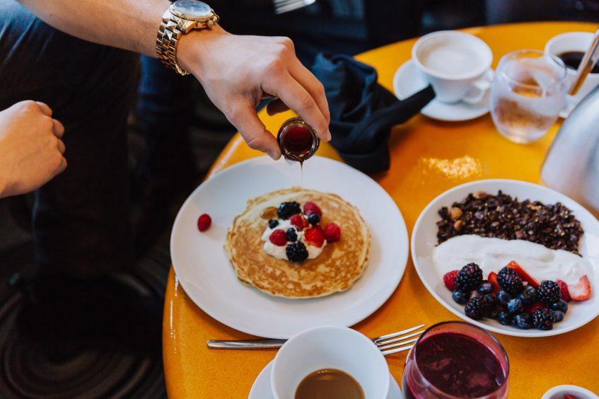 W Bellevue Luxury Hotel - Bellevue, WA, USA - 24 Hour In Room Dining Breakfast