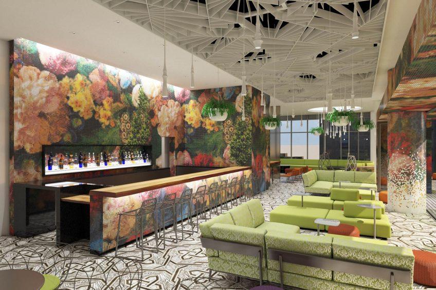 W Philadelphia Luxury Hotel - Philadelphia, PA, USA - Wet Deck Bar