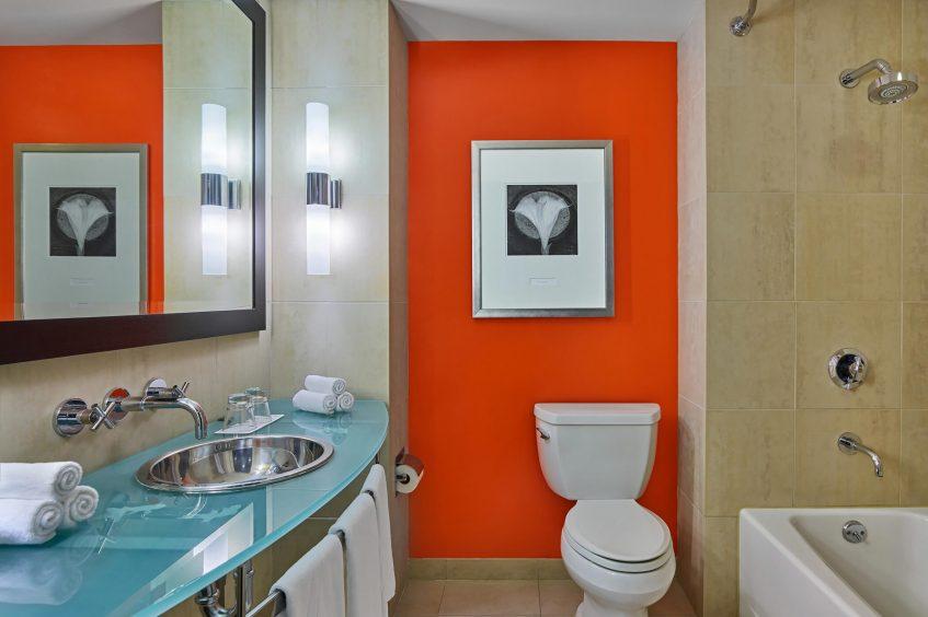 W San Francisco Luxury Hotel - San Francisco, CA, USA - Extreme WOW Suite Bathroom Vanity