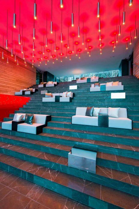 W Verbier Luxury Hotel - Verbier, Switzerland - Monumental Staircase Style