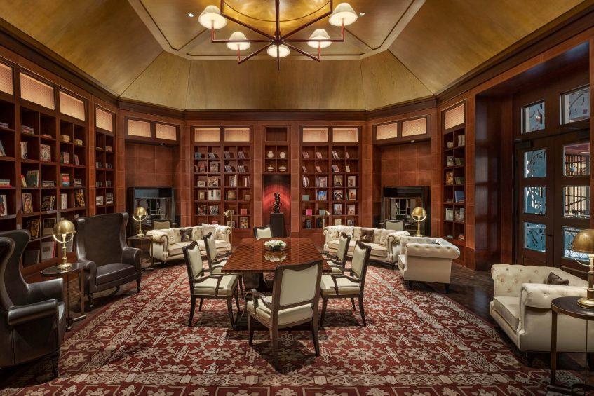 The St. Regis Cairo Luxury Hotel - Cairo, Egypt - Astor Library