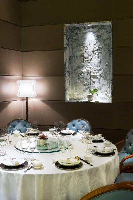 The St. Regis Chengdu Luxury Hotel - Chengdu, Sichuan, China - Yan Ting Wall Carving