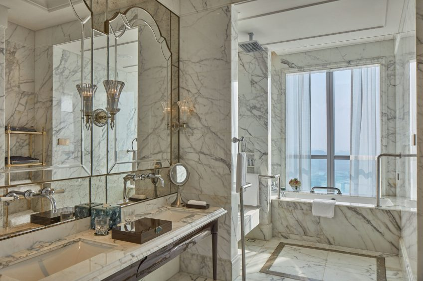The St. Regis Zhuhai Luxury Hotel - Zhuhai, Guangdong, China - Accessible Bathroom Tub