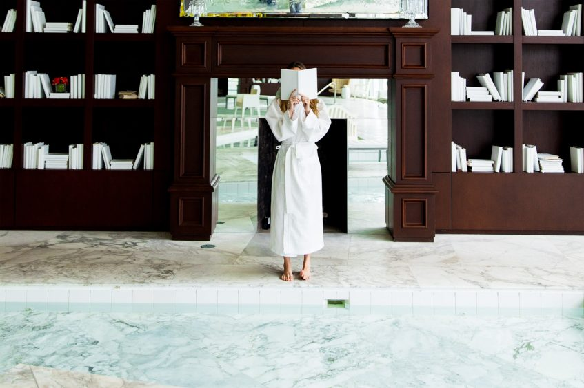 W Miami Luxury Hotel - Miami, FL, USA - Iconbrickell Spa Pool