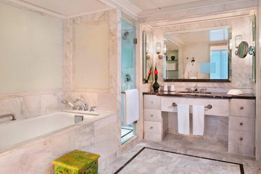 The St. Regis Beijing Luxury Hotel - Beijing, China - Ambassador Suite Bathroom Separate Shower and Tub