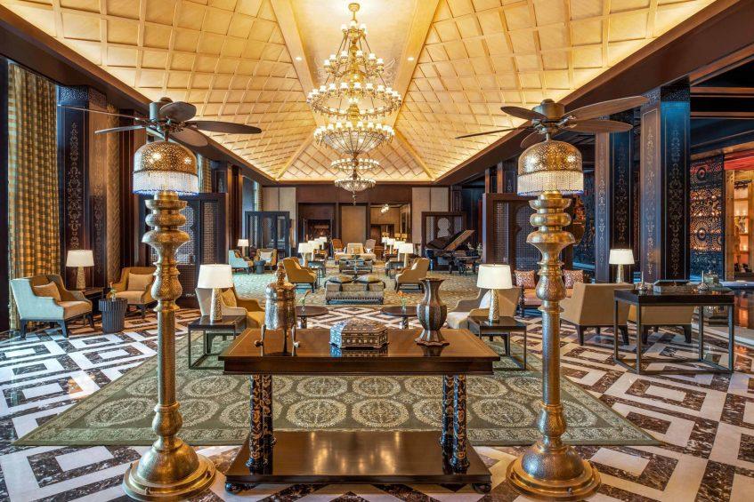 The St. Regis Cairo Luxury Hotel - Cairo, Egypt - Lobby Lounge