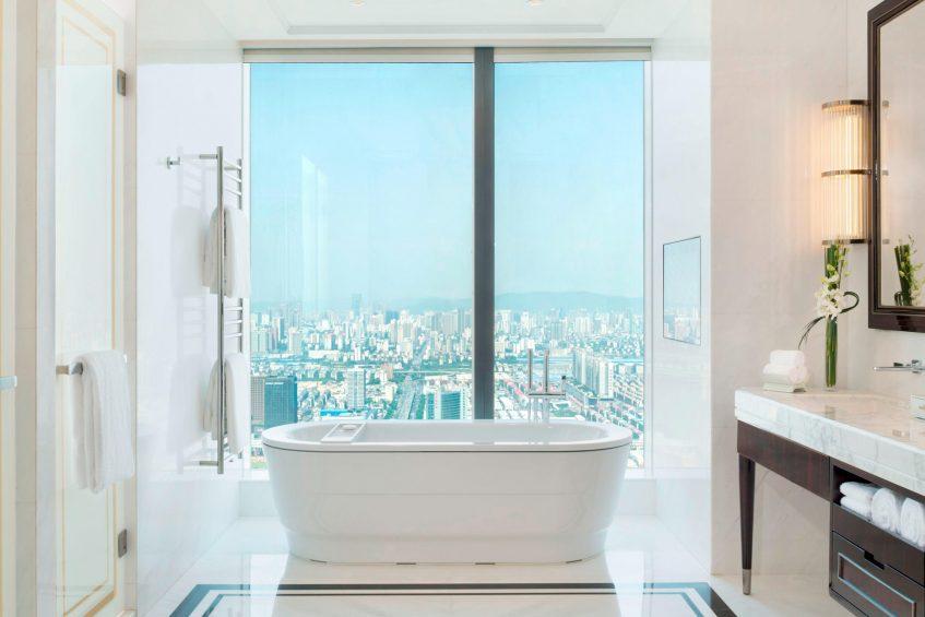 The St. Regis Changsha Luxury Hotel - Changsha, China - Presidential Suite Bathroom