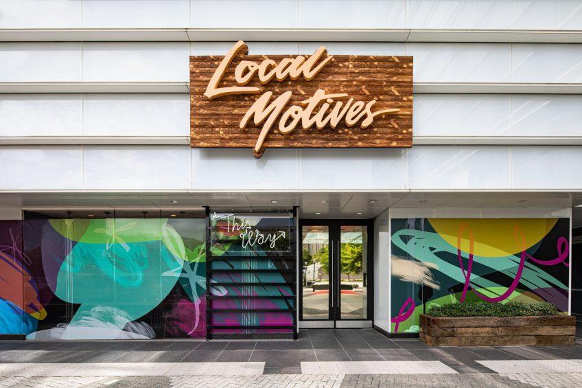 W Atlanta Downtown Luxury Hotel - Atlanta, Georgia, USA - Local Motives Entrance