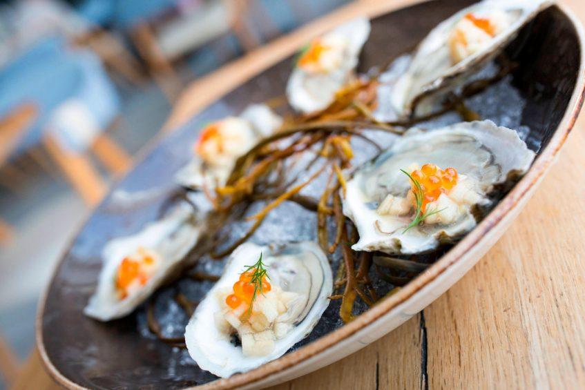 W Hoboken Luxury Hotel - Hoboken, NJ, USA - Halifax Oysters