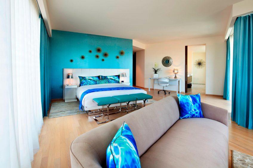 W Scottsdale Luxury Hotel - Scottsdale, AZ, USA - Extreme WOW Suite Master Bedroom