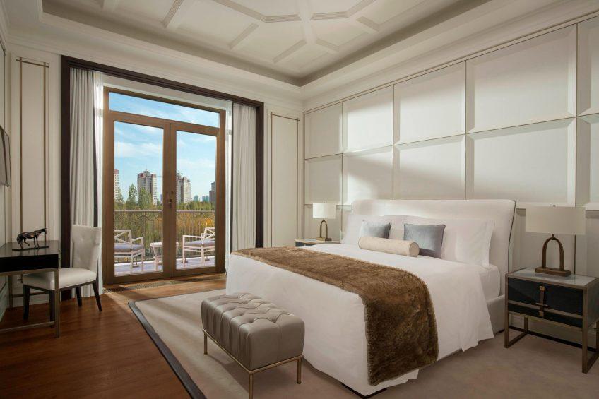 The St. Regis Astana Luxury Hotel - Astana, Kazakhstan - Royal Suite Bedroom