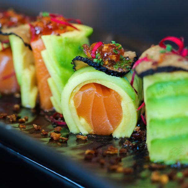 The St. Regis Mumbai Luxury Hotel - Mumbai, India - Avacado Gourmet Sushi