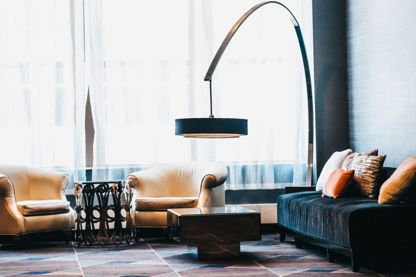 W Minneapolis The Foshay Luxury Hotel - Minneapolis, MN, USA - Living Room Design