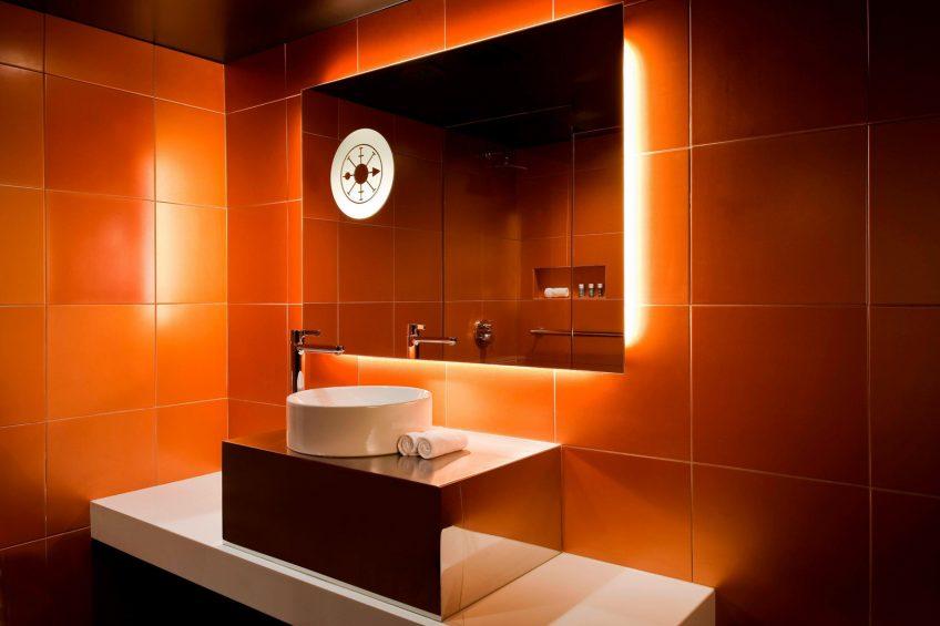 W New Orleans French Quarter Luxury Hotel - New Orleans, LA, USA - Guest Bathroom